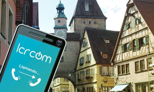 Llamar a Alemania